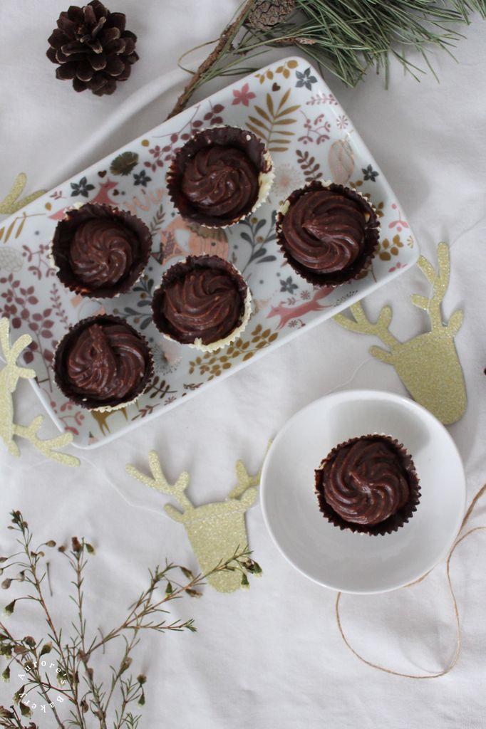 Caissettes aux chocolats & noisettes.