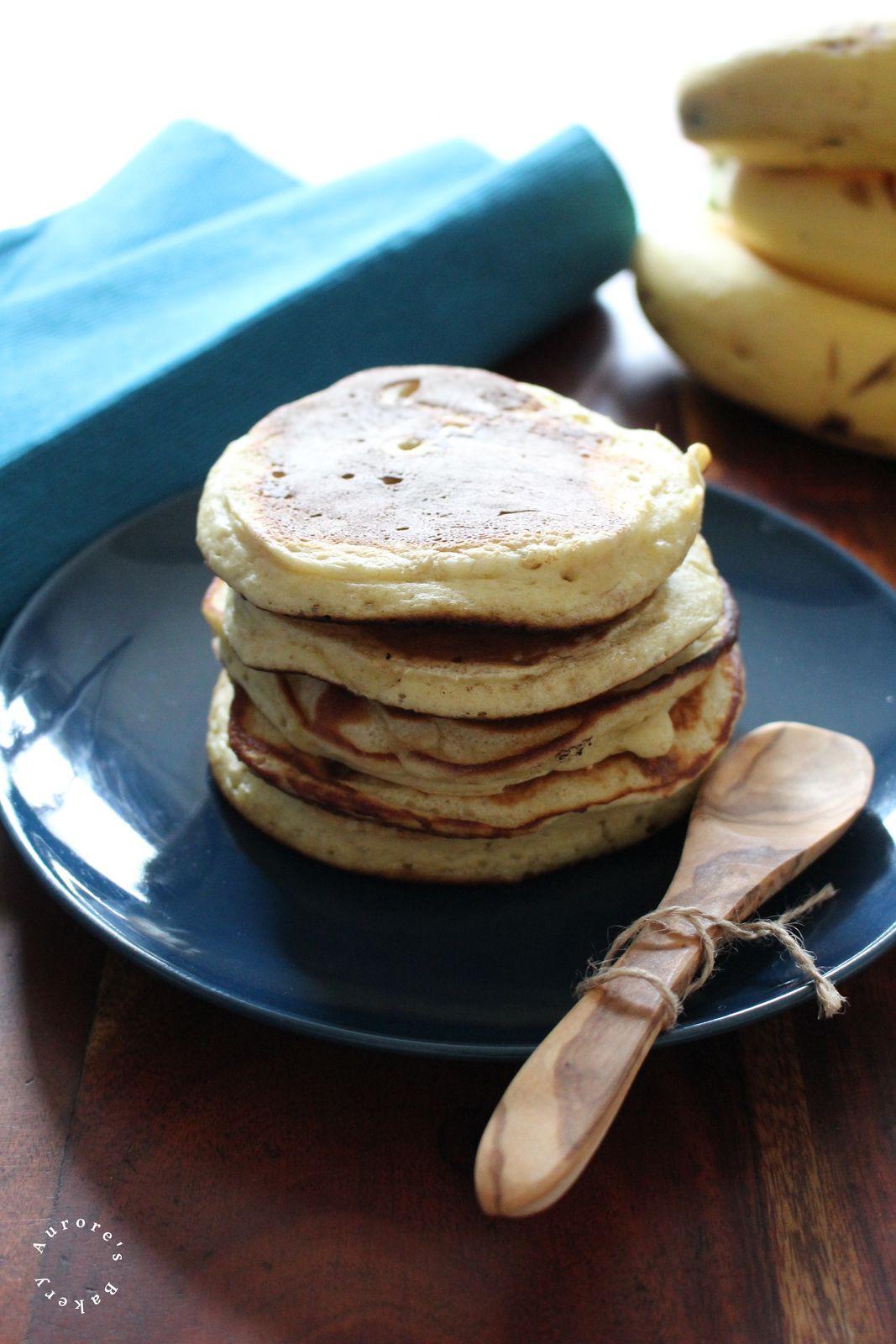 Healthy Pancakes à la banane.