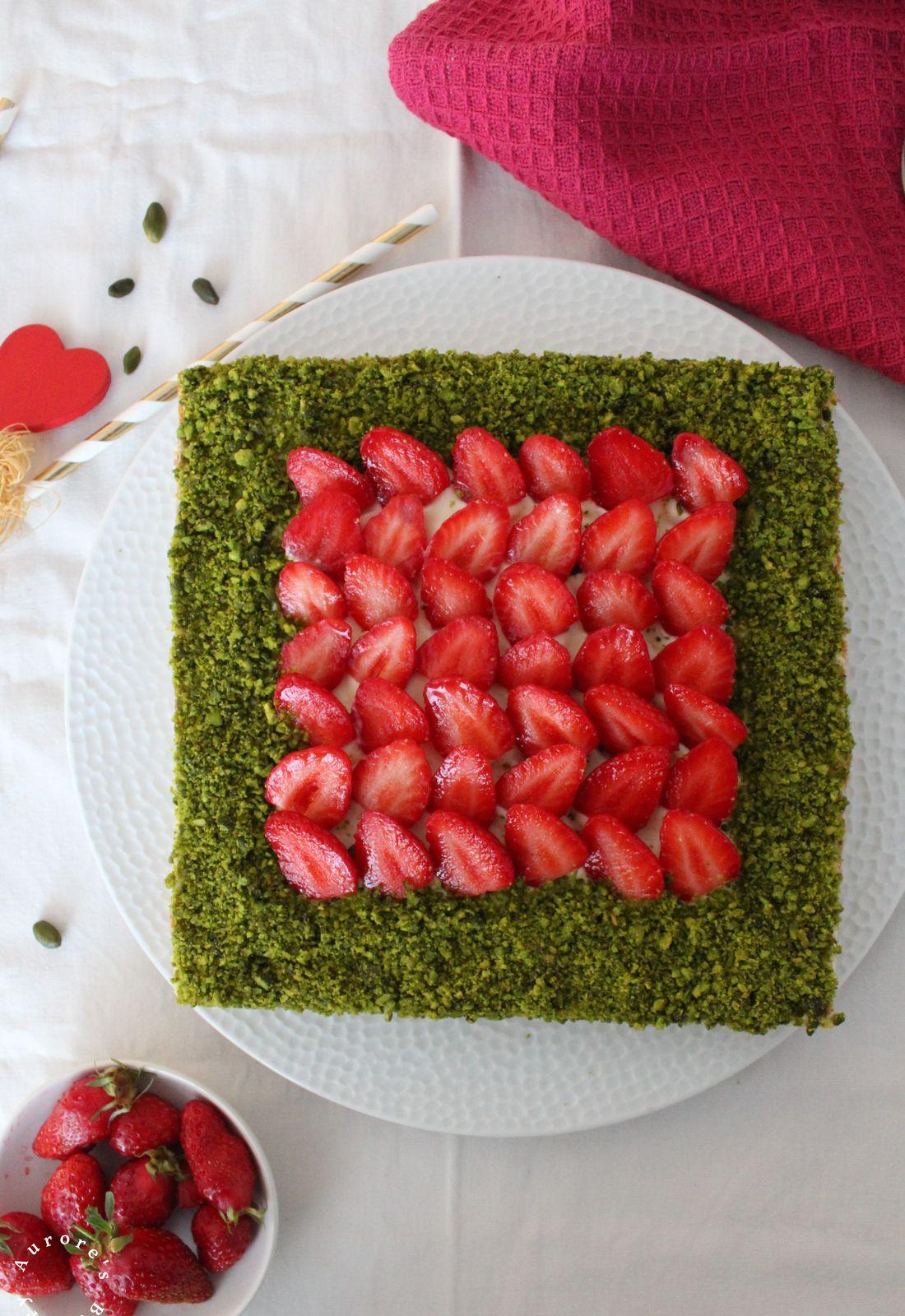 Sablé breton aux fraises {inspiration Christophe Adam}
