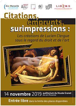 Rencontre Droit & Arts