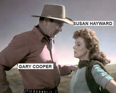 le-jardin-du-diable Gary Cooper  Susan Hayward. Richard Widmark