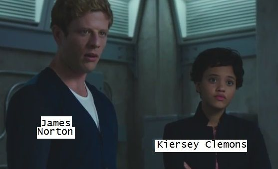 James Norton, Kiersey Clemons,