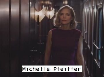 Michelle Pfeiffer  Murder on the Orient Express