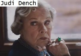 JUDI DENCH Murder on the Orient Express