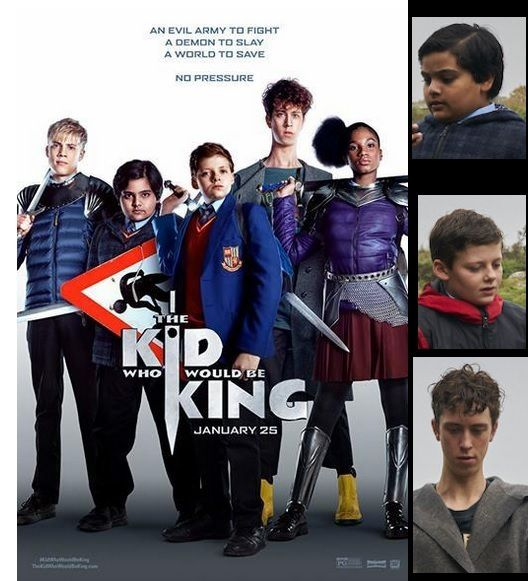 ALEX, LE DESTIN D'UN ROI (2019)  titre original :THE KID WHO WOULD BE KING