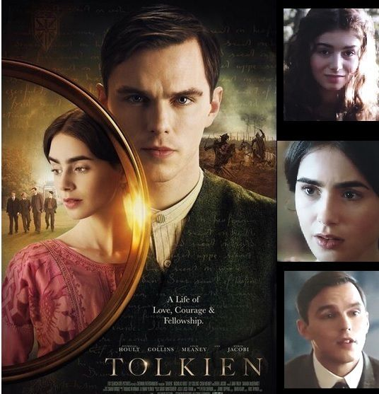 TOLKIEN Nicholas Hoult Lily Collins Colm Meaney Derek Jacobi Anthony Boyle Patrick Gibson