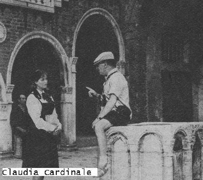 les-noces-venitiennes Martine Carol    Vittorio De Sica    Philippe Nicaud   Claudia Cardinale  Marthe Mercadier Jacques Sernas