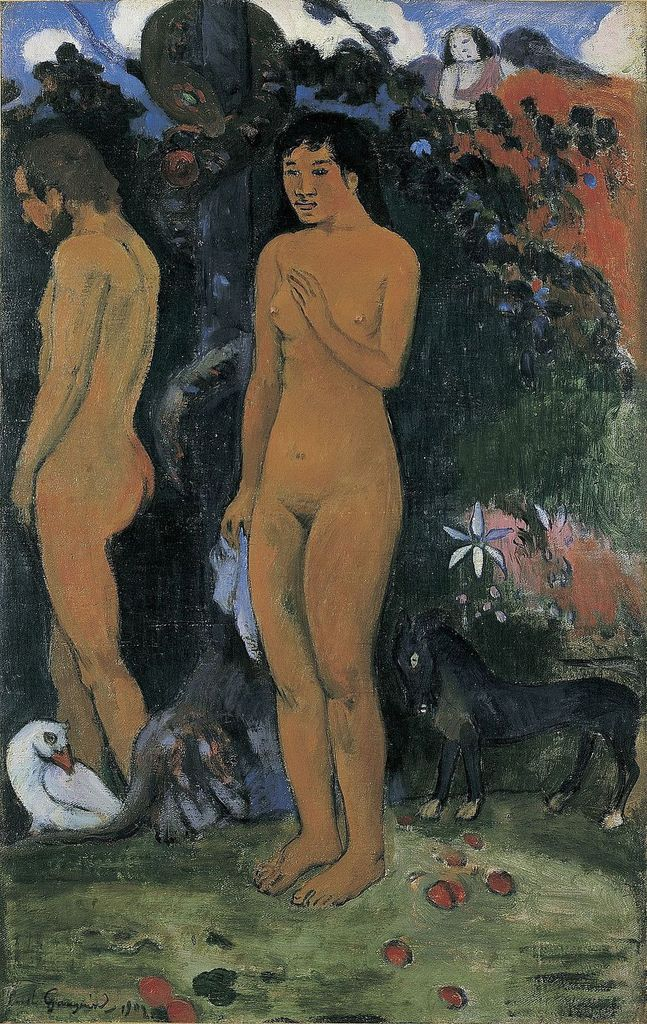 Adam et Eve, par Paul Gauguin (1848-1903) (Photo Wikimedia commons)