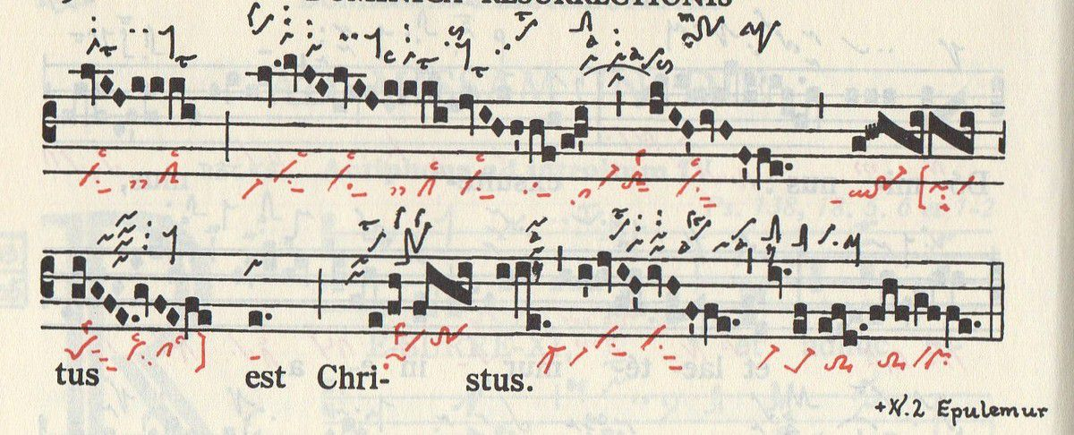 Graduale triplex de Solesmes p. 197-198