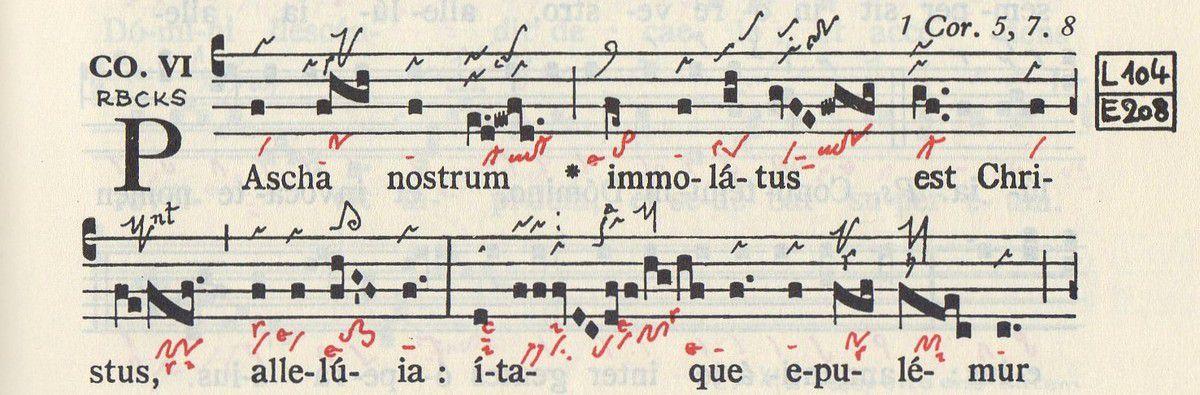 Graduale triplex des Solesmes p. 199-200