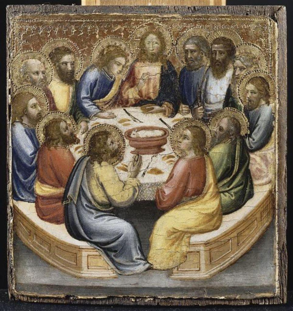 """La Cène"", par Mariotto di Nardo (v. 1393-1424)"