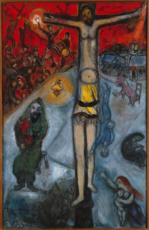 "Chagall, ""Résurrection"" (1947-48), Musée national Marc Chagall de Nice (photo Wikimedia commons)"