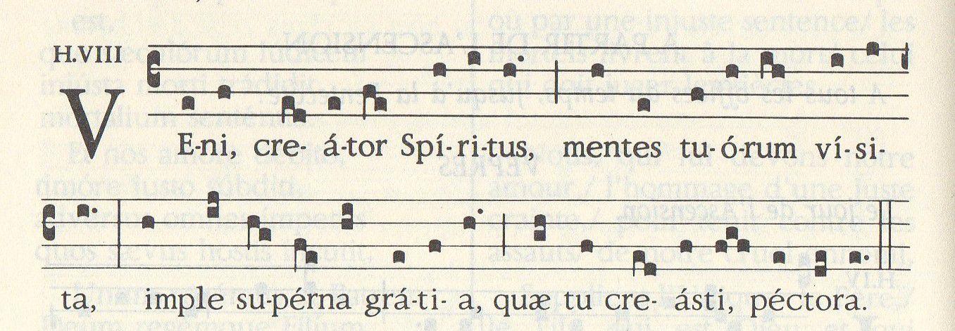 Messe grégorienne de la Pentecôte