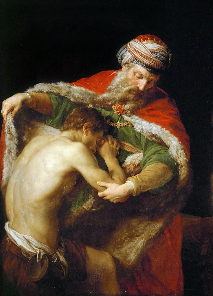 "Pompeo Batoni (1708-1787), ""Le retour du Fils prodigue"" (Photo Wikimedia commons)"
