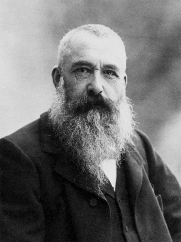 Claude Monet par Nadar en 1899