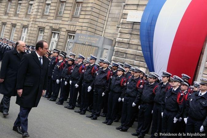 Préfecture de police à Paris.