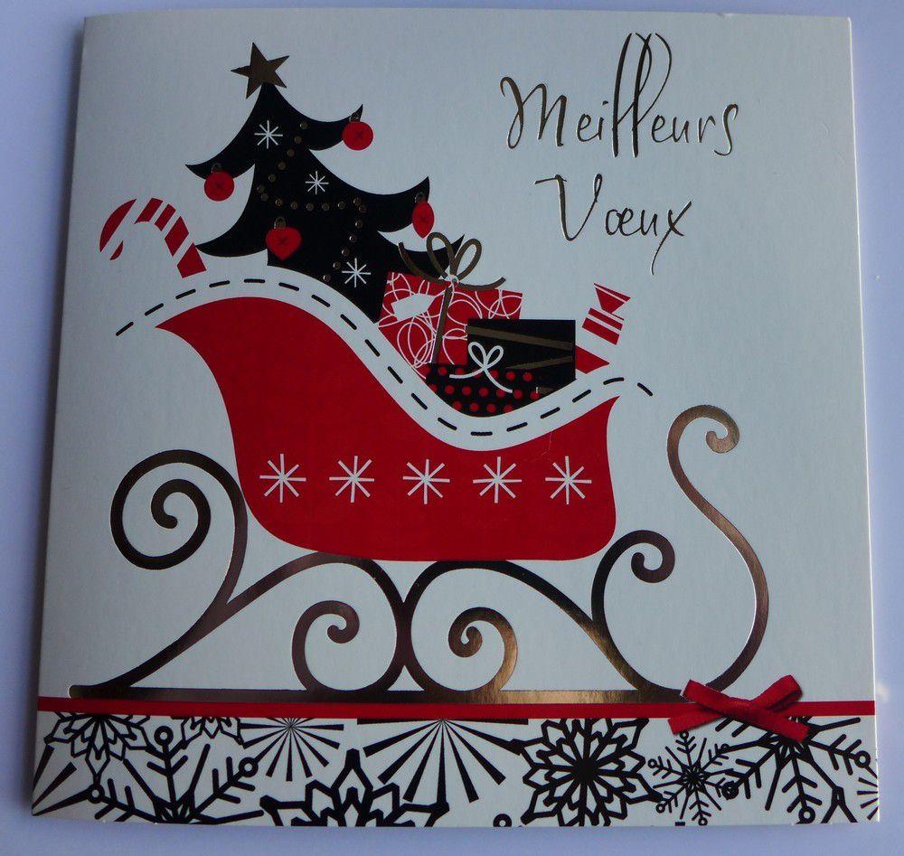 De jolies cartes de voeux dans ma boite aux lettres (2/3)...