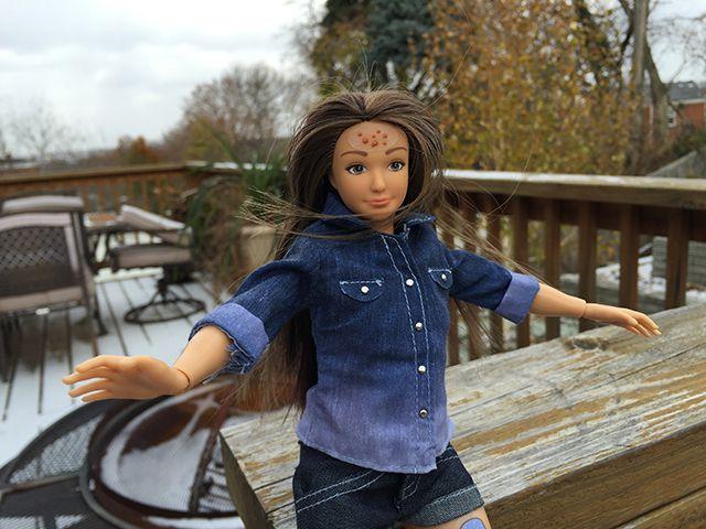 Une poupée qui se veut Anti Barbie...