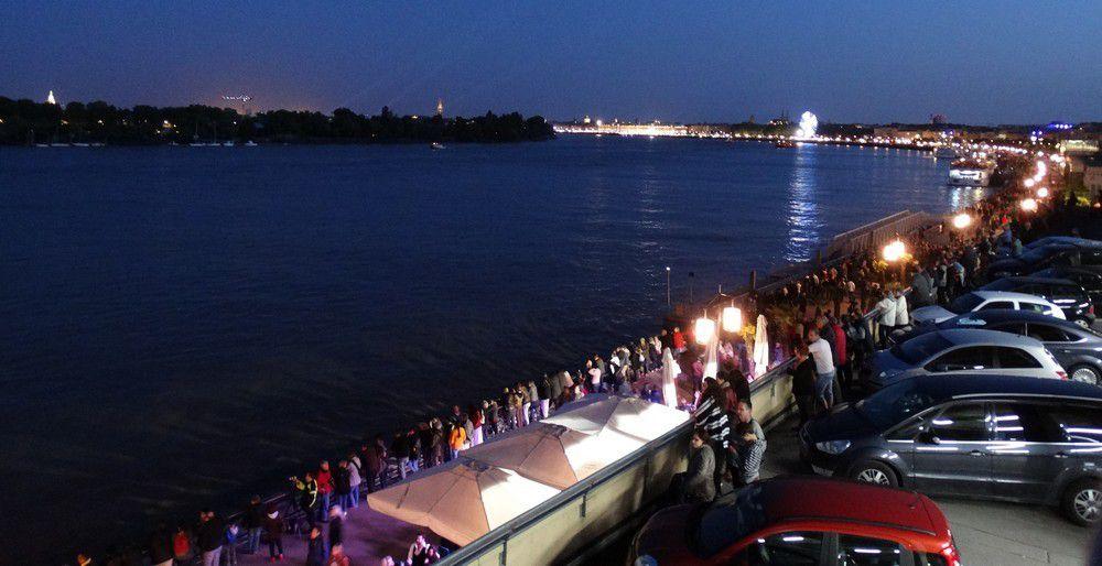 La Fête du Fleuve 2015 à Bordeaux : en attendant le Belem et les voiliers...