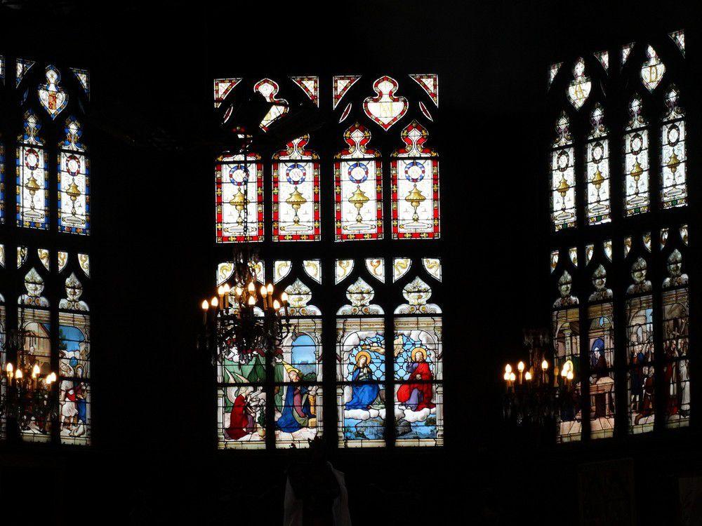 L'église Sainte-Catherine de Honfleur...