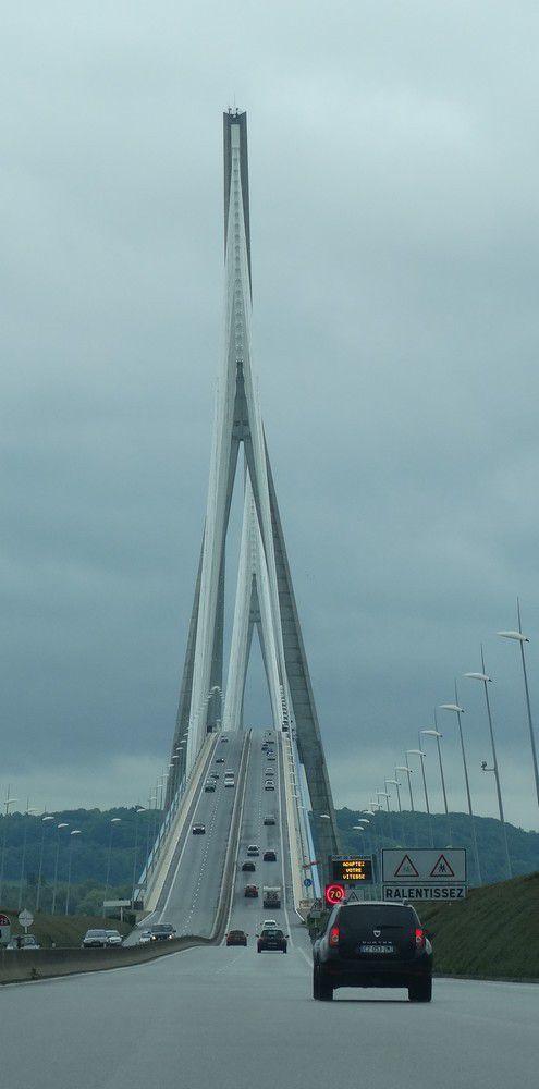 Le pont de Normandie...