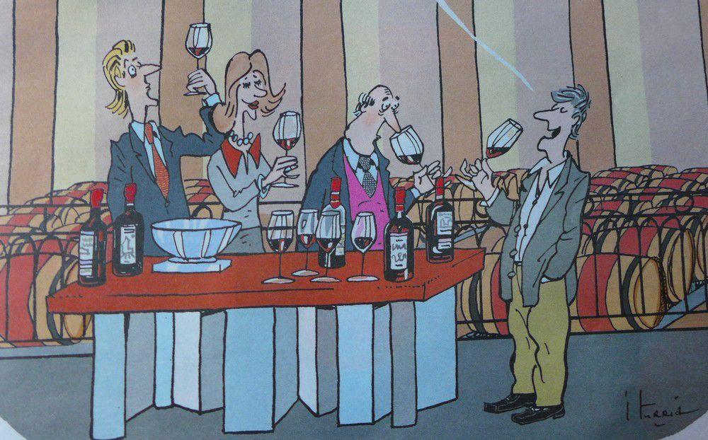 Les nouvelles dégustations de vin...