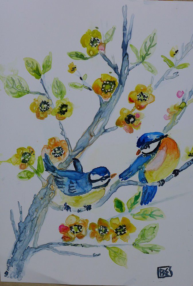 Des oiseaux sur papier lanavanguard...