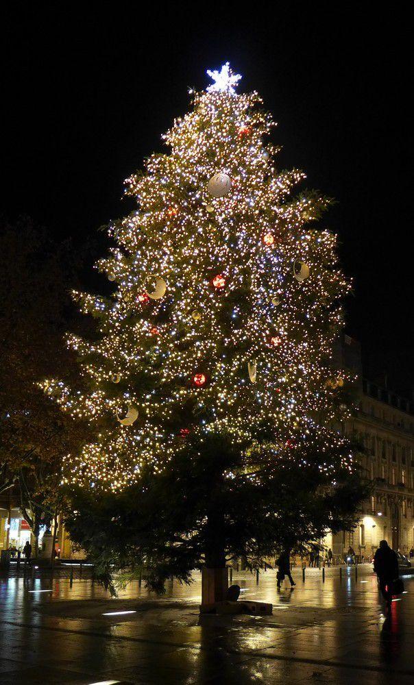 Illuminations de Noël 2015 à Bordeaux...