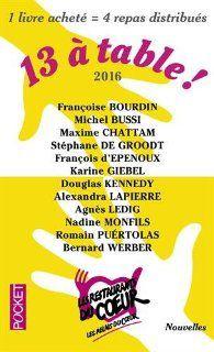 """Achetez """"Treize à table 2016""""..."""