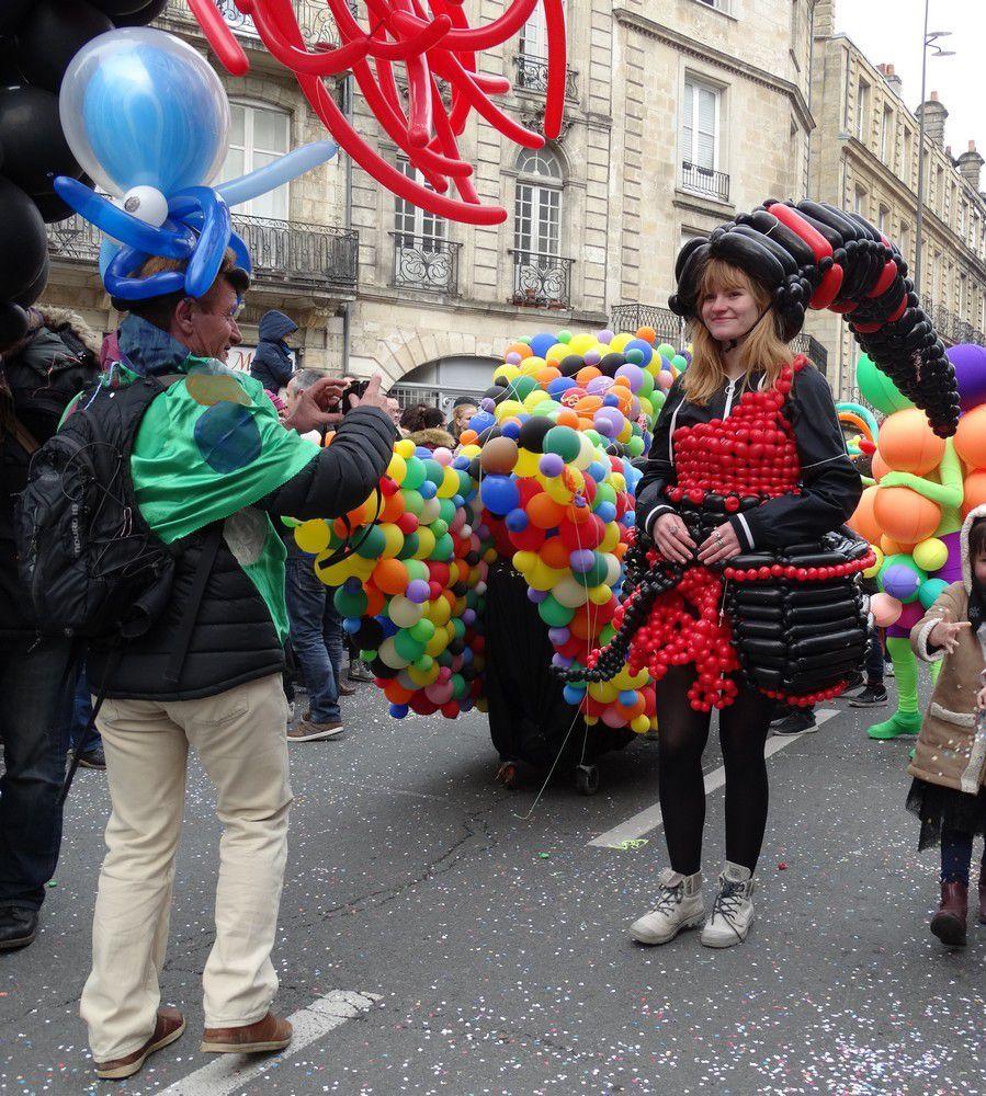 Le carnaval de Bordeaux 2016 : quelques personnages...