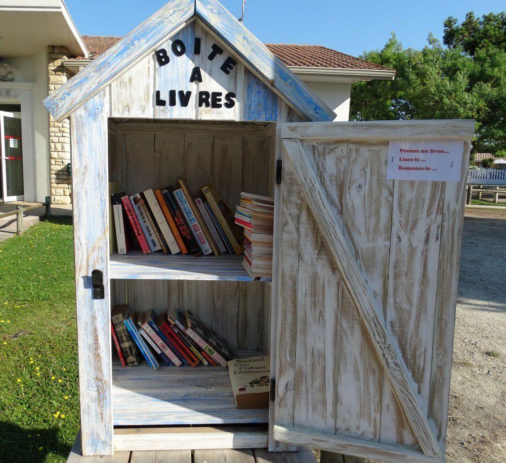 La cabane à livres du Cap-Ferret...