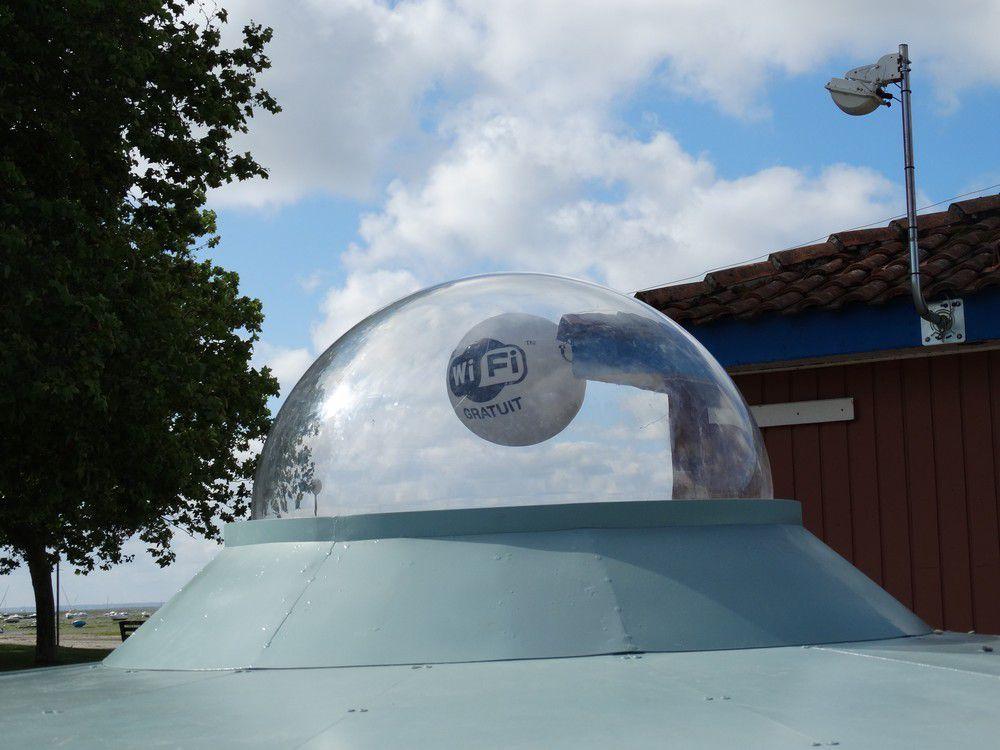 Une nouvelle soucoupe volante à Arès...