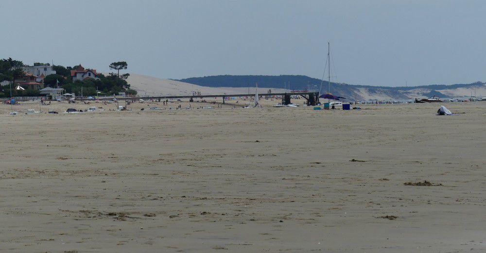 Les belles plages d'Arcachon...