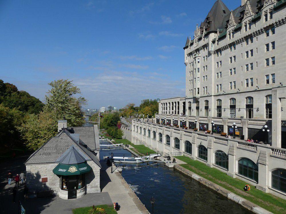 Le Canal Rideau à Ottawa...