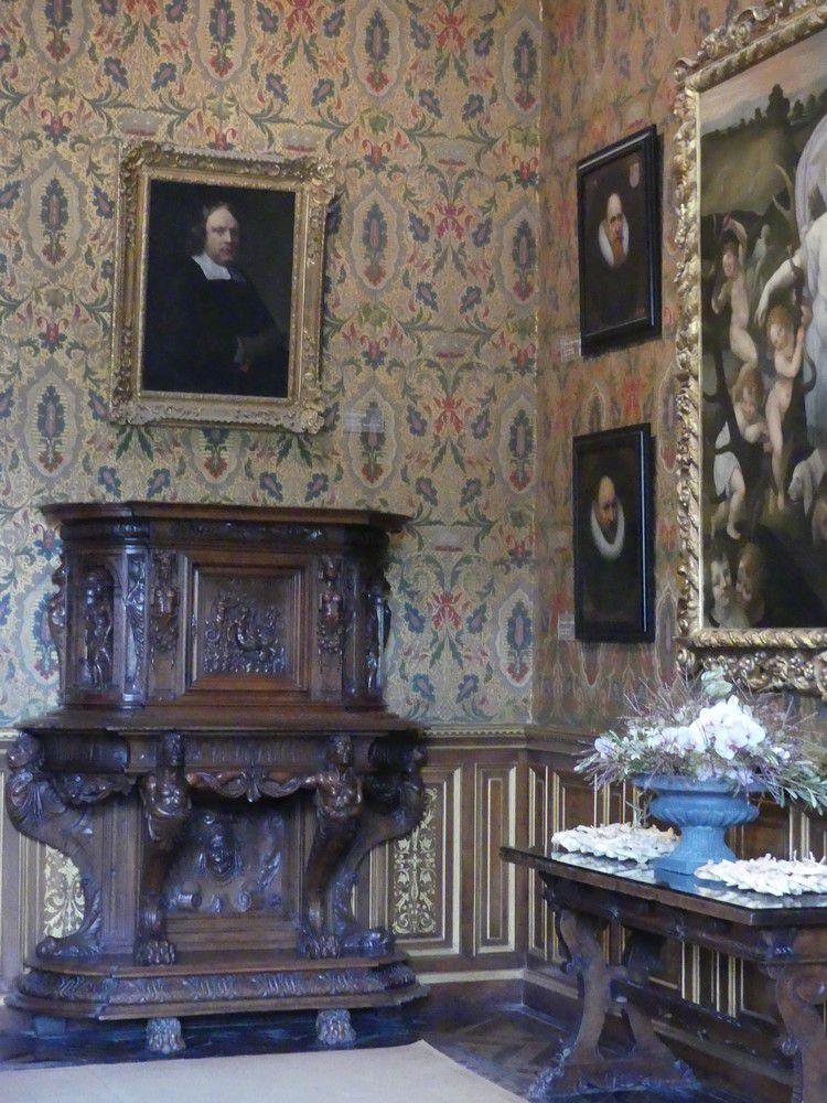 Le château de Chenonceau : le rez-de-chaussée...