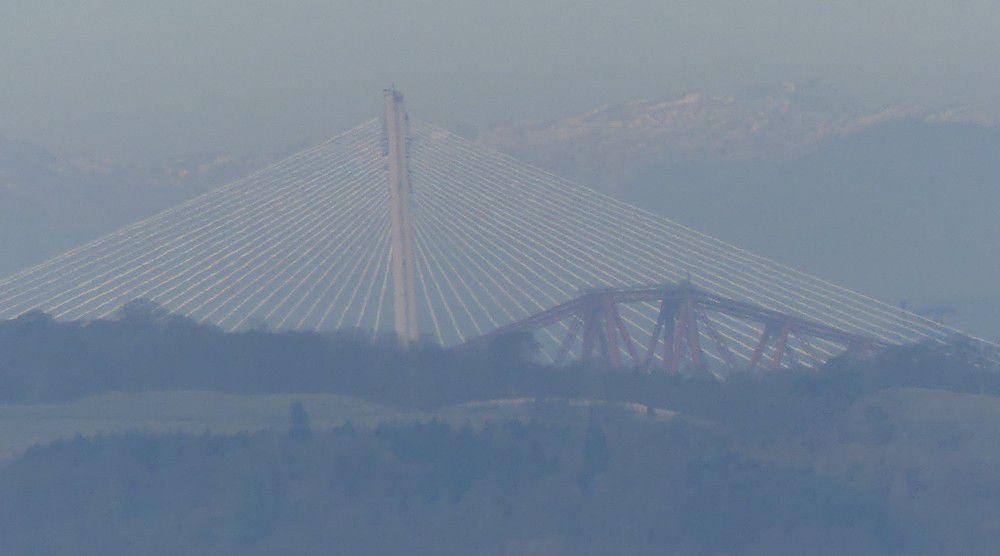 Edimbourg : le pont du Forth...