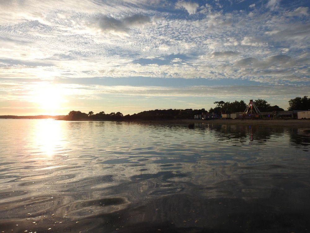 Couchers de soleil sur le Bassin d'Arcachon - août 2017...