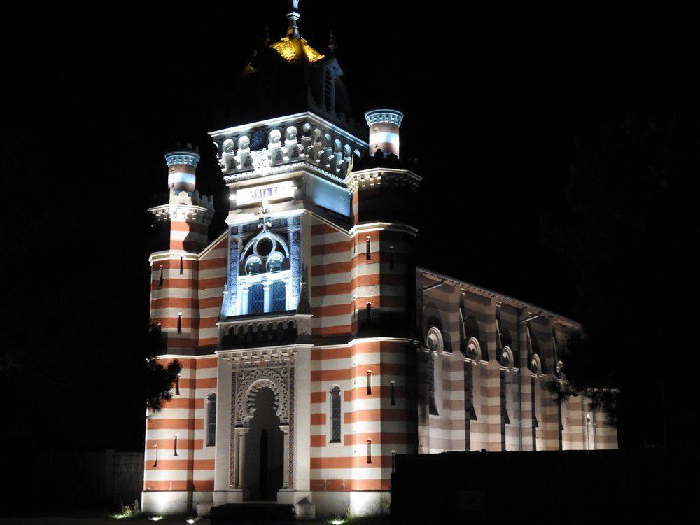 La chapelle de la Villa Algérienne mise en lumière...