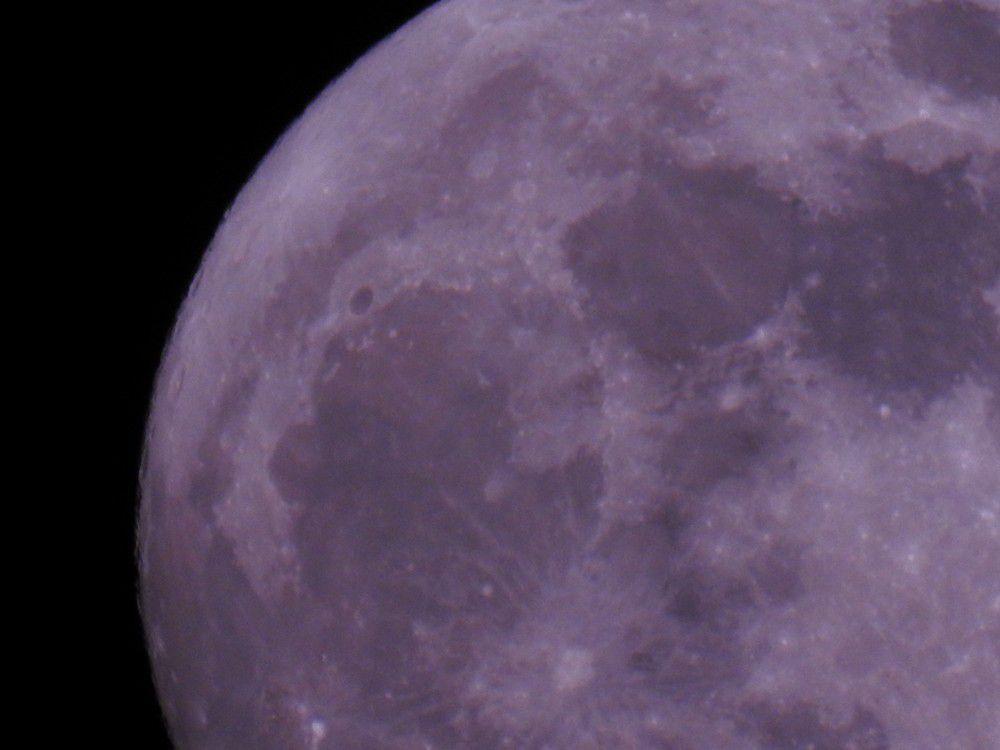 Madame la Lune, le 1er janvier 2018...