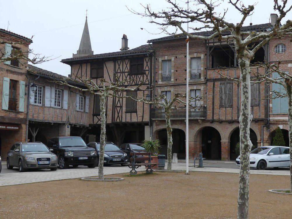 Balade à Lisle-sur-Tarn...