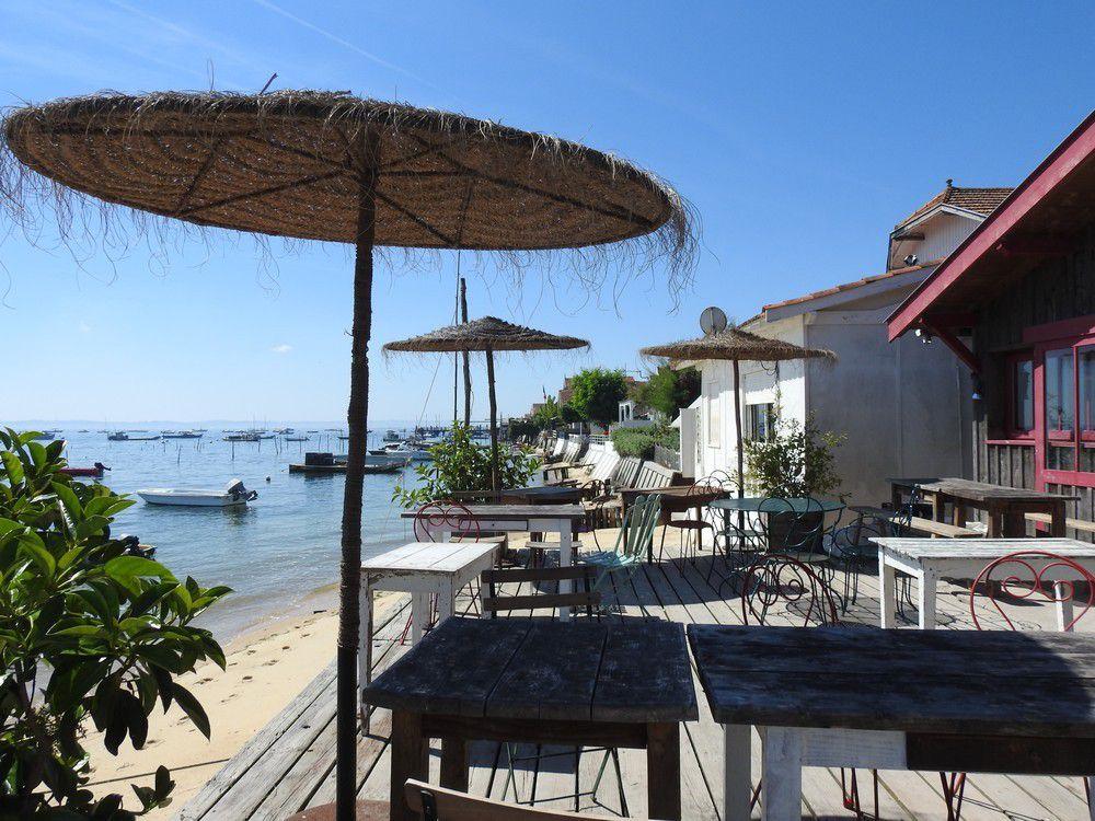 Balade au Canon, sur la presqu'île du Cap-Ferret...