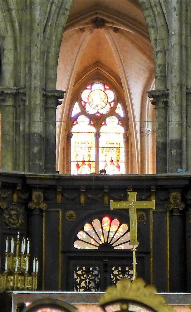 La cathédrale Saint-André, à Bordeaux...