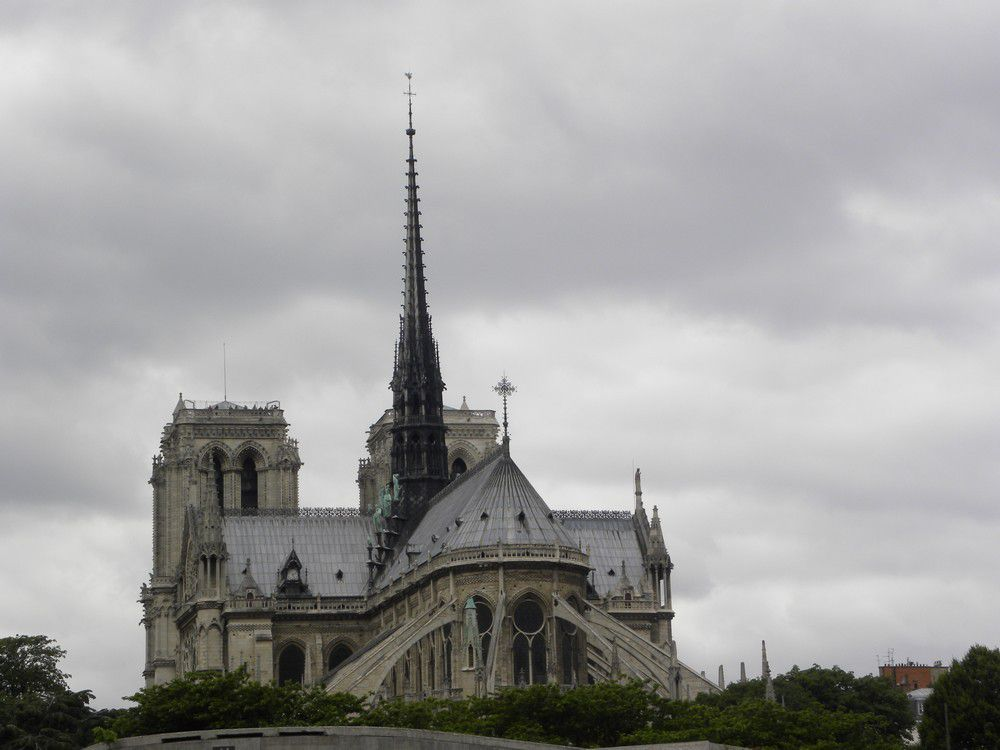 Notre-Dame de Paris, avant d'être ravagée par l'incendie du 15 avril 2019...