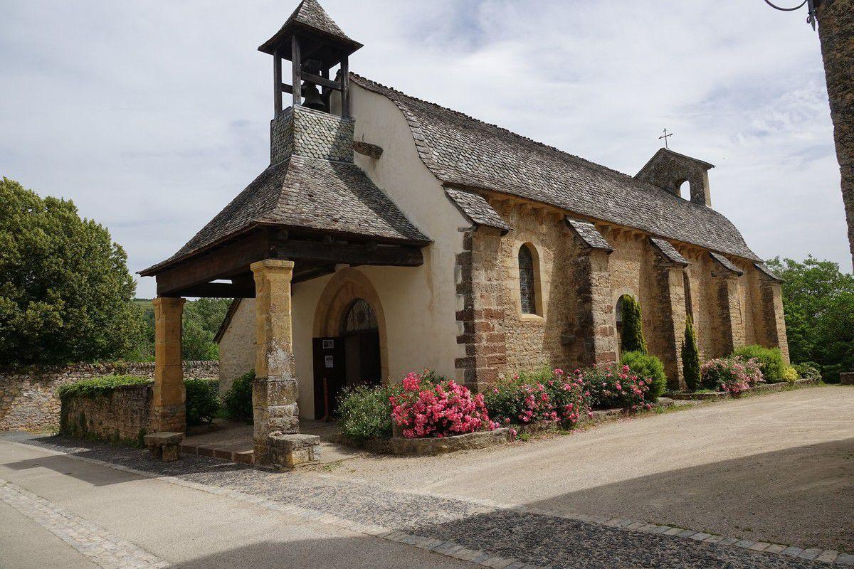 Saint-Côme-d'Olt : joli village médiéval...