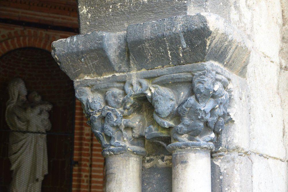 Le cloître Saint-Salvi à Albi...