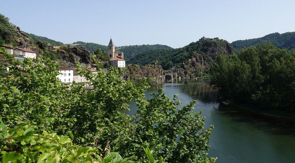 La presqu'île d'Ambialet, sur le Tarn...