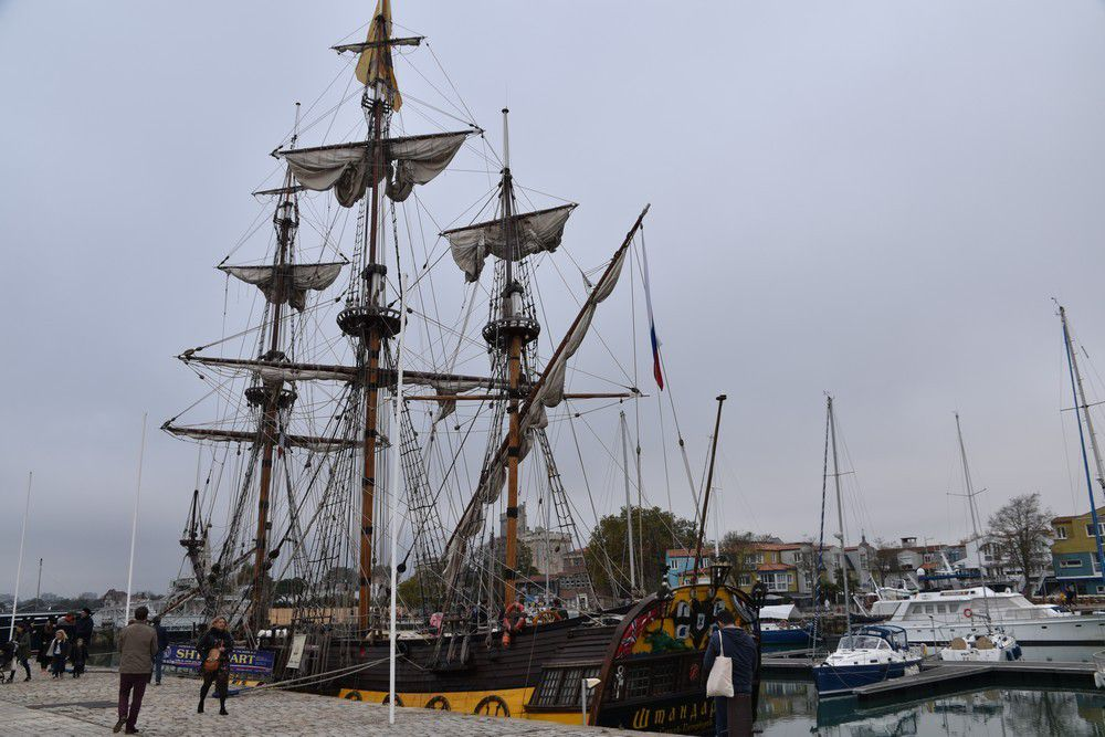Le trois-mâts Russe, le Shtandart à La Rochelle...