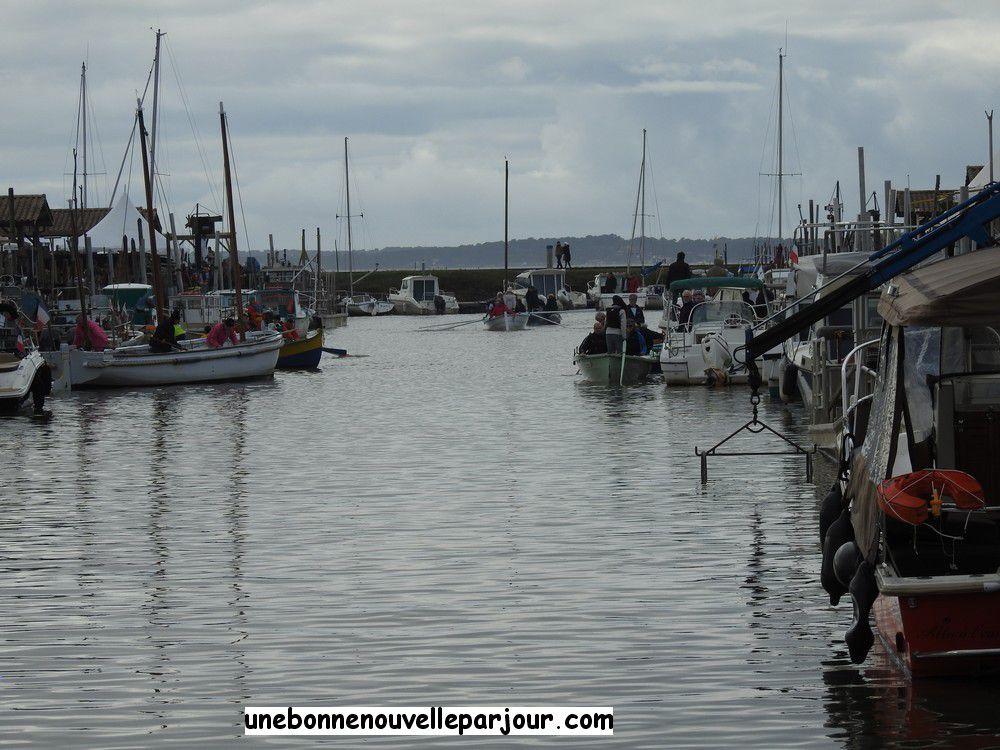 Le port d'Andernos-les-bains, décembre 2019...