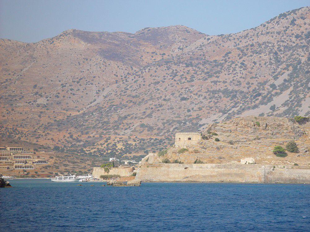 L'île de Spinalonga, en Crète...