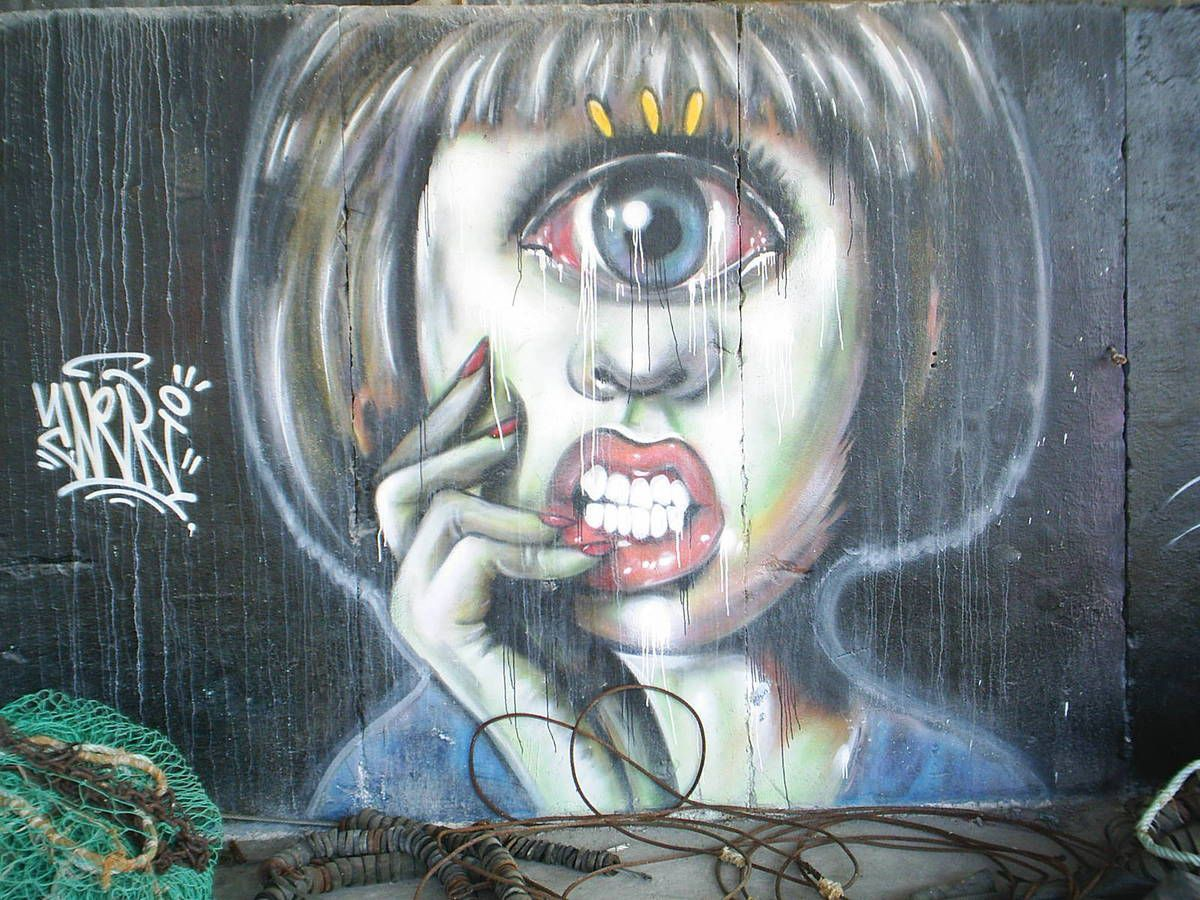 Street Art au Port